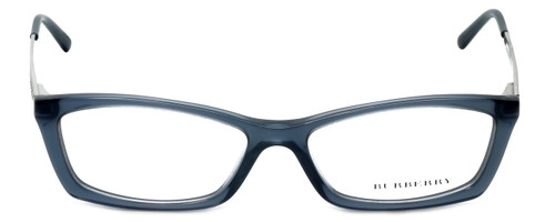 Burberry Designer Eyeglasses B2129-3013 in Transparent Blue 51mm :: Rx Single Vision
