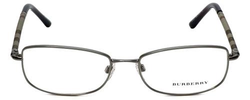 Burberry Designer Eyeglasses B1221-1003 in Gunmetal 54mm :: Progressive