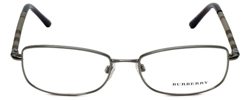 Burberry Designer Eyeglasses B1221-1003 in Gunmetal 54mm :: Rx Bi-Focal