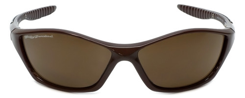Harley-Davidson Designer Sunglasses HDS5023 in Brown with Amber Lens