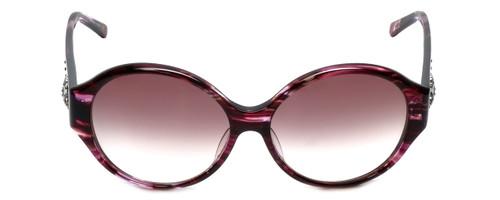 Judith Leiber Designer Sunglasses JL5000-07 in Amethyst in Amethyst-Gradient Lens