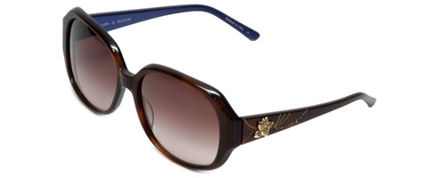 Judith Leiber Designer Sunglasses JL5001-02 in Topaz in Brown-Gradient Lens