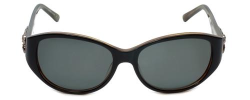 Judith Leiber Designer Sunglasses JL5002-01 in Onyx in G15 Lens