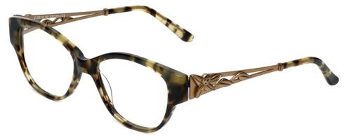 Judith Leiber Designer Eyeglasses JL3010-02 in Topaz 52mm :: Rx Single Vision