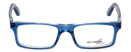 Arnette Designer Eyeglasses Lo-Fi AN7060-1130 in Translucent Blue 47mm :: Progressive