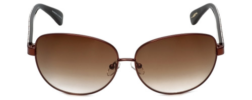 Betsey Johnson Designer Sunglasses Betseyville BV107-02 in Bronze with Brown-Gradient Lens
