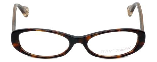 Betsey Johnson Designer Reading Glasses Tutu-Sweet BJ013-02 in Espresso 52mm