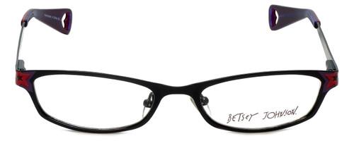 Betsey Johnson Designer Reading Glasses Starlight BJ019-01 in Black 52mm