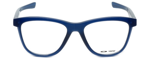 Oakley Designer Eyeglasses Grounded OX8070-0553 in Frosted-Navy 53mm :: Rx Single Vision