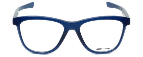 Oakley Designer Eyeglasses Grounded OX8070-0553 in Frosted-Navy 53mm :: Rx Bi-Focal