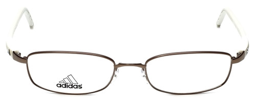 Adidas Designer Eyeglasses a623-40-6054 in Bronze/Ivory 52mm :: Custom Left & Right Lens