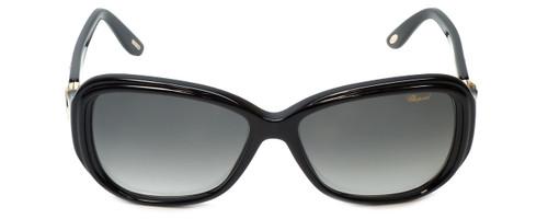 Chopard Designer Sunglasses SCH148S-0700 in Black with Grey-Gradient Lens
