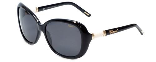 Chopard Designer Sunglasses SCH149S-0700 in Black with Grey Lens