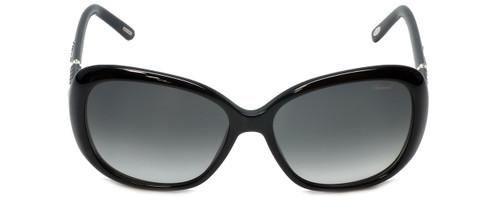 Chopard Designer Sunglasses SCH149S-700Y in Black with Grey-Gradient Lens