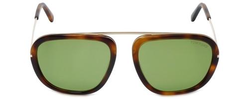 Tom Ford Designer Sunglasses Johnson TF453-52N in Havana with G-15 Lens