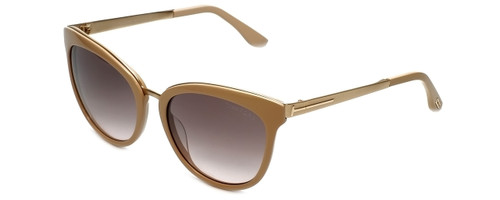 Tom Ford Designer Sunglasses Emma TF461-74F in Blush 56mmwith Rose-Gradient Lens