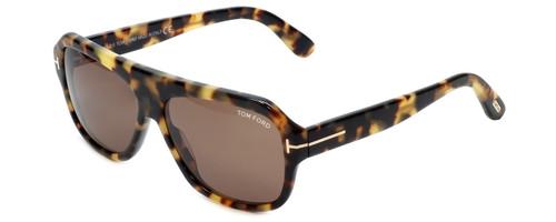 Tom Ford Designer Sunglasses Omar TF465-56J in Tortoise with Brown Lens 59mm