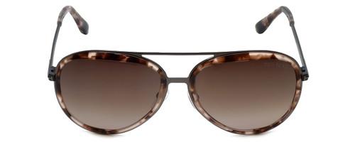 Tom Ford Designer Sunglasses Andy TF468-56Z in Rose-Havana with Violet-Gradient Lens