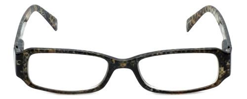 Corinne McCormack Designer Eyeglasses Libby in Gold-Snake-Skin 50mm :: Custom Left & Right Lens