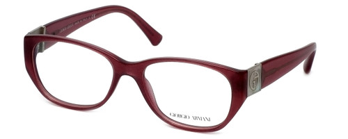 Giorgio Armani Designer Reading Glasses AR7016H-5157 53mm in Cherry Fabric