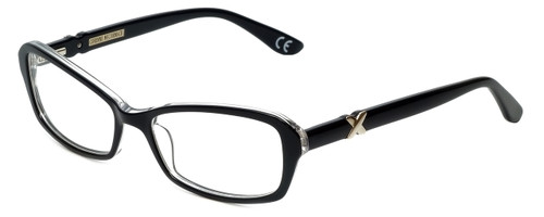 Corinne McCormack Designer Eyeglasses Bleecker-BLK in Black 53mm :: Rx Single Vision