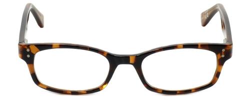 Corinne McCormack Designer Eyeglasses Channing in Amber-Tortoise 47mm :: Rx Bi-Focal