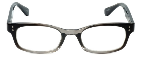 Corinne McCormack Designer Eyeglasses Channing in Black-Grey 47mm :: Rx Bi-Focal