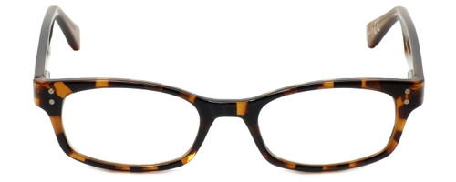 Corinne McCormack Designer Reading Glasses Channing in Amber-Tortoise 47mm