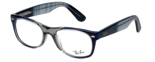 482e342a316 Ray-Ban Designer Eyeglasses RX5184-5516 in Blue-Fade 52mm    Rx Bi ...