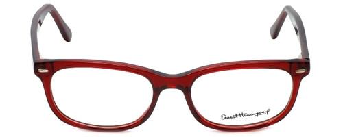 b15784157d Ernest Hemingway Designer Reading Glasses H4673 in Burgundy Tortoise 52mm