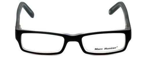 Marc Hunter Designer Eyeglasses MH7302-BKC in Matte Black/Crystal 45mm :: Progressive