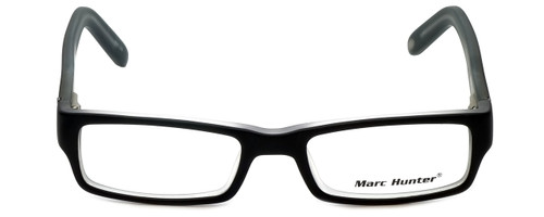 Marc Hunter Designer Reading Glasses MH7302-BKC in Matte Black/Crystal 45mm