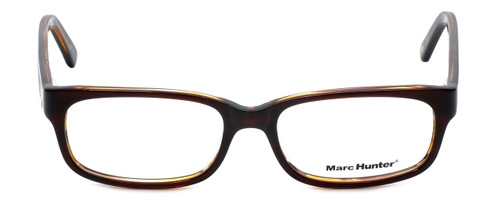 Marc Hunter Designer Reading Glasses MH7300-BRN in Brown 52mm