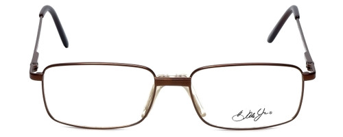 Dale Jr. Designer Reading Glasses DJ6808-SBR in Satin Brown 57mm