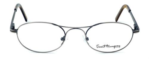 Ernest Hemingway Designer Reading Glasses H4628 in Gunmetal 49mm