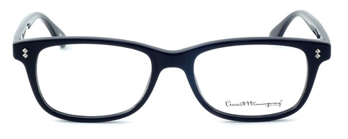 Ernest Hemingway Designer Eyeglasses H4617 in Black 52mm :: Custom Left & Right Lens