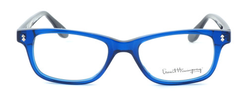 Ernest Hemingway Designer Eyeglasses H4617 in Black-Blue 52mm :: Custom Left & Right Lens