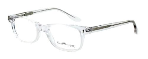 Ernest Hemingway Designer Eyeglasses H4617 (Small Size) in Crystal 48mm :: Progressive