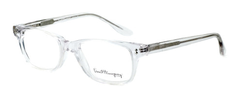 Ernest Hemingway Designer Reading Glasses H4617 (Small Size) in Crystal 48mm