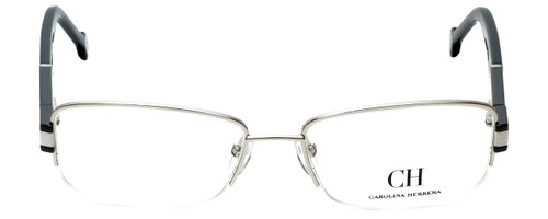 Carolina Herrera Designer Eyeglasses VHE049-0579 in Shiny Palladium 54mm :: Custom Left & Right Lens