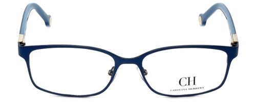 Carolina Herrera Designer Eyeglasses VHE065-08A3 in Blue Gloss 53mm :: Custom Left & Right Lens