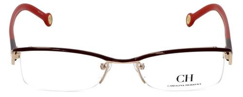 Carolina Herrera Designer Eyeglasses VHE014-0307 in Red 53mm :: Rx Single Vision