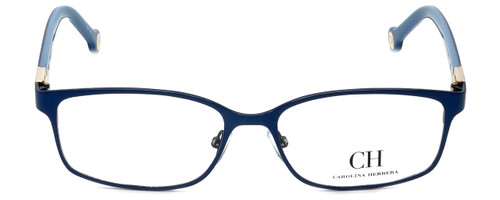 Carolina Herrera Designer Eyeglasses VHE065-08A3 in Blue Gloss 53mm :: Rx Single Vision