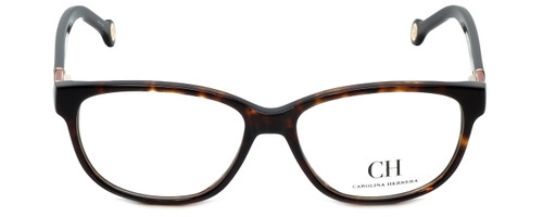 Carolina Herrera Designer Eyeglasses VHE590-0909 in Shiny Havana 53mm :: Rx Single Vision