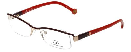 Carolina Herrera Designer Eyeglasses VHE014-0307 in Red 53mm :: Progressive