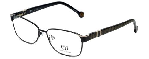 Carolina Herrera Designer Eyeglasses VHE063-0304 in Black 55mm :: Progressive