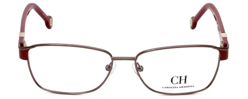 Carolina Herrera Designer Eyeglasses VHE063-08P2 in Red 55mm :: Progressive