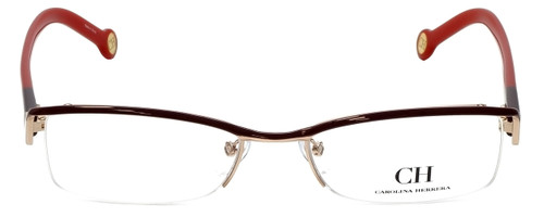 Carolina Herrera Designer Eyeglasses VHE014-0307 in Red 53mm :: Rx Bi-Focal