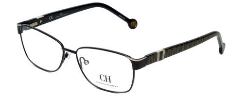 Carolina Herrera Designer Eyeglasses VHE063-0304 in Black 55mm :: Rx Bi-Focal