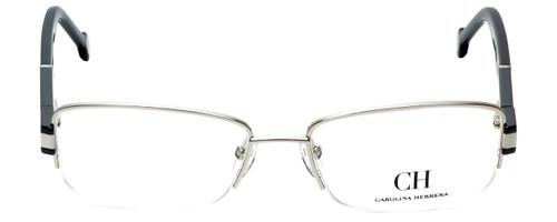 Carolina Herrera Designer Reading Glasses VHE049-0579 in Shiny Palladium 54mm
